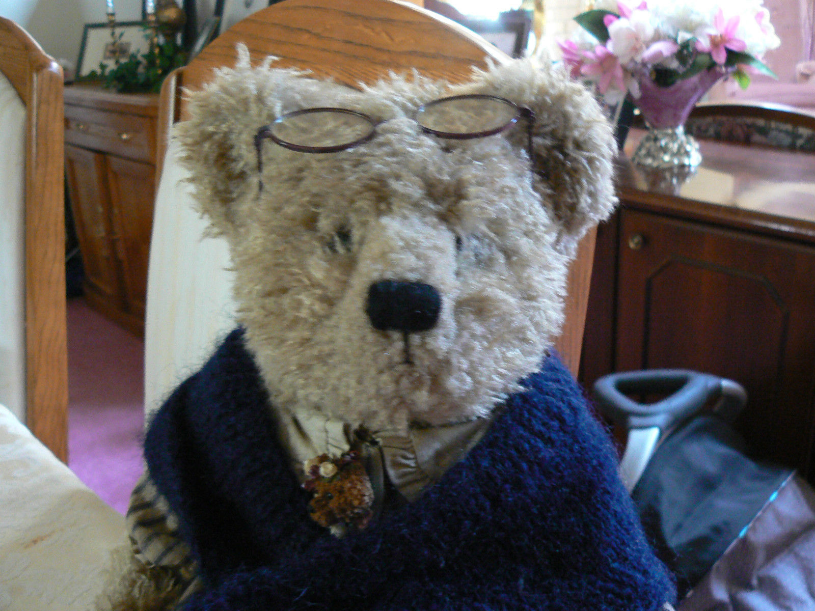 Vintage Boyds Collection Bear Grandmother Beatrice B. Beatrhugs Style # 99718V