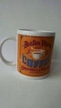 Vintage looking Boston Blend Coffee Advertisement Mug Cup Brownell & Fie... - $14.01