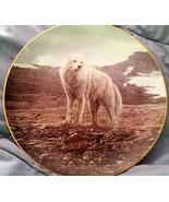 Tundra Song Winter Guardians series Bradford Exchange collector's plate - $39.27