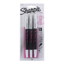 Sharpie Pink Ribbon Black Barrel Grip Stick Fin... - $10.99