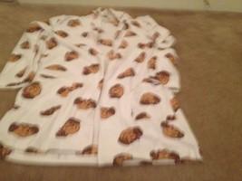 Aeropostale Adult Fleece Robe Sz M MultiColor HouseCoat Sleepwear - $30.61