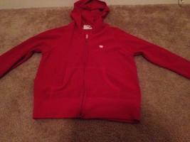 Aeropostale Little Girl's Fleece Zip Front Jacket Sz M Red - $17.56