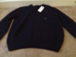 Chaps Men's Sweater Sz M NWT Blue - $27.91