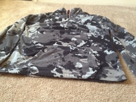 Arizona Boy's 1/4 Zip Fleece Jacket Top Sz L 14-16 Multi-Color - $25.00