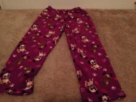 Faded Glory Little Girl Lounge Pants Sz M 7/8 SleepWear MultiColor Girls - $16.89