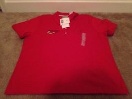 Kitchen Vision Liz Claiborne Women's Polo Shirt Sz XL Red NWT - $20.95