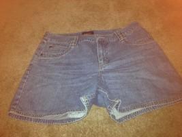 Sonoma Women's Blue Denim Jean Shorts Sz 10 Short Shorts - $24.43