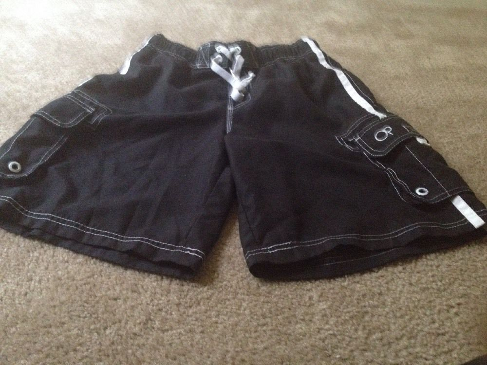 5976c0e906 Op Men's Swim Trunks Sz S Lined Black & and 15 similar items. S l1600