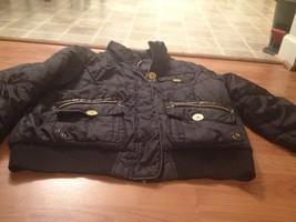 Baby Phat Women's Lined Coat Jacket Sz 2XL Black - $55.75