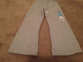 Hanes Girls Sweatpants Size X Small 4/5 Gray NEW - $22.48