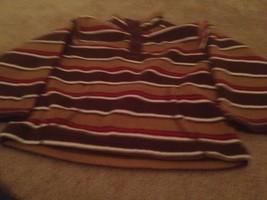 Gymboree Toddler Kids PullOver Fleece Jacket Top Sz 4T-5T Multi-Color - $20.33