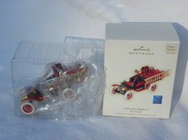 "2008 Hallmark Fire Brigade Series ""1908 Ford Model T"" Lighted Christmas ... - $14.99"