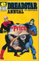 Dreadstar Comic Book Annual #1 Jim Starlin Marvel/EPIC 1983 NEAR MINT NE... - $4.99
