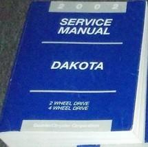 2002 Dodge Dakota Camión Servicio Reparación Shop Manual Taller Fábrica Oem - $49.35
