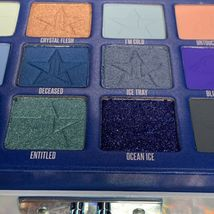NEW IN BOX Jeffree Star BLUE BLOOD Palette 18 Pans Of Blue CRUELTY FREE SEE PICS image 4