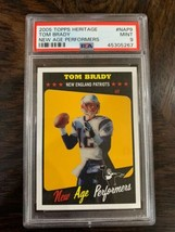 2005 Topps Heritage New Age Performers Tom Brady #NAP9 PSA 9 LOW POP - $98.00