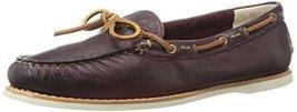 FRYE Women's Quincy Tie Boat Shoe,  Plum, 5.5 M US [Shoes] - $75.05