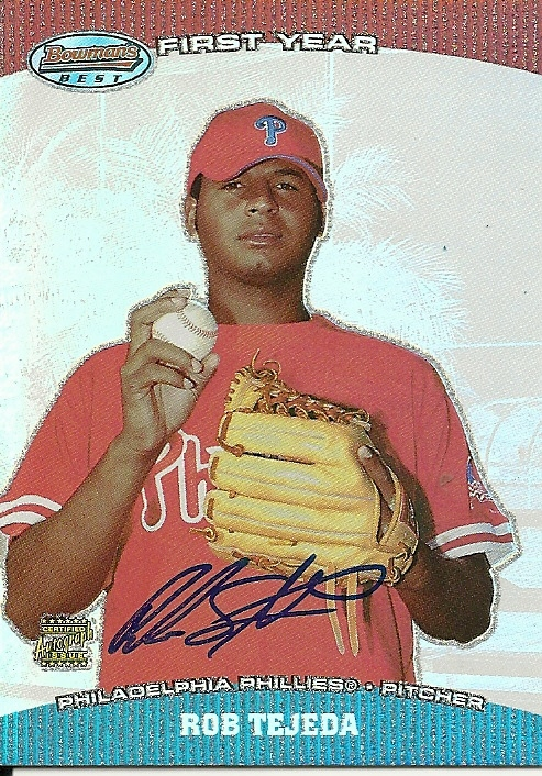 Primary image for 2004 Bowman's Best Rob Tejada BB-RT Phillies