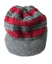 Alpakaandmore Womens Hand-knitted Balloon Cap Alpaca Wool One Size (One Size) - $31.68