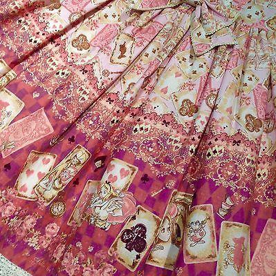 Baby The Stars Shine Bright Disney Alice Scalloped JSK Pink Lolita Fashion BTSSB image 2