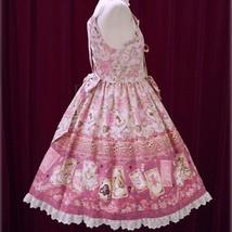 Baby The Stars Shine Bright Disney Alice Scalloped JSK Pink Lolita Fashion BTSSB image 6