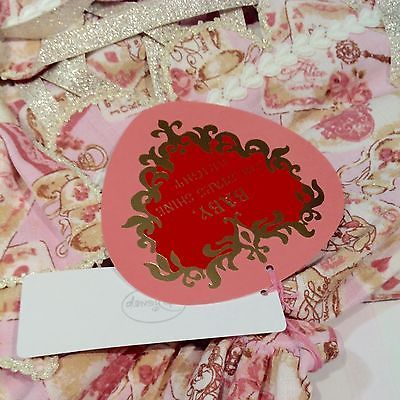 Baby The Stars Shine Bright Disney Alice Scalloped JSK Pink Lolita Fashion BTSSB image 3
