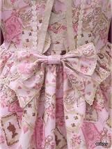 Baby The Stars Shine Bright Disney Alice Scalloped JSK Pink Lolita Fashion BTSSB image 11