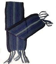 Alpakaandmore Thick Unisex 100% Alpaca Wool Scarf, Shawl Stripes 63x4.72... - $657,74 MXN