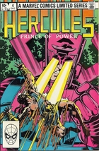 (CB-7) 1982 Marvel Comic Book: Hercules , Prince of Power #4 - $3.00