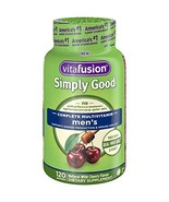 Vitafusion Simply Good Men's Complete Multivitamin, 120 Count - $10.85