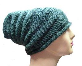 Alpakaandmore Womens 100% Alpaca Wool Knit Hat Baggy Beanie Cap Ski Hip Hop (... - $33.66
