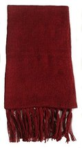 Alpakaandmore Unisex Alpaca Wool Fringed Scarf 63x4.72 (Red) [Apparel] - ₨2,166.19 INR