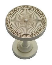 Urbanest Agia Decor Drapery Medallion Holdback, 1 pc (Ivory) - $12.86