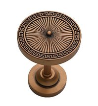 Urbanest Agia Decor Drapery Medallion Holdback, 1 pc (Copper) - $12.86