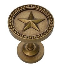 Urbanest Star Decor Drapery Medallion Holdback, 1 pc (Renaissance Gold) - $12.86