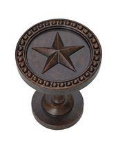 Urbanest Star Decor Drapery Medallion Holdback, 1 pc (Mahogany) - $12.86