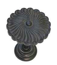 Urbanest Sierra Decor Drapery Medallion Holdback, 1 pc (Black Washed) - $12.86