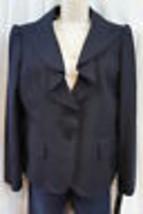 """Anne Klein Petite Blazer Sz 12P Midnight Blue """"Urban Gem"""" Business Jacket - $39.53"""