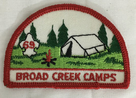 1969 Broad Creek Camps Patch Baltimore Boy Scouts of America - $9.99