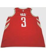 Houston Rockets Chris Paul #3 NBA Nike Connect Swingman Red Jersey 52 - $44.50