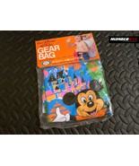 WALT DISNEY WORLD BEACH POOL GEAR BAG MICKEY MOUSE VINTAGE 1970s KIDS BO... - $98.99