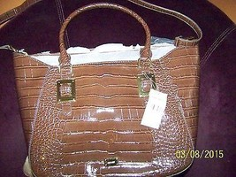 Nine West Epic Scales Tote,Fudge,One Size NWT - $29.69