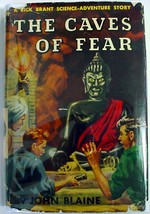 Rick Brant The Caves of Fear John Blaine hcdj Science Adventure Story No. 8 - $12.00