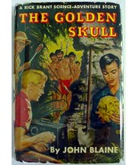Rick Brant The Golden Skull John Blaine hcdj Science Adventure Story No. 10 - $15.00