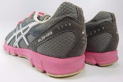 Asics Rush 33 Women's Running Shoes Size US 8.5 M (B) EU 40 Gray White T1H7N