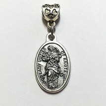 3/4 Inch Our Lady Untier Undoer of Knots Protection Medal  Catholic Silver Tone - $6.99