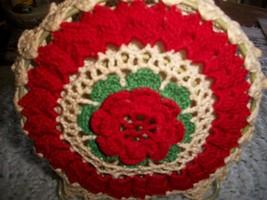 Vintage Crochet Napkin Holder - $25.00