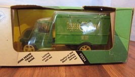 ERTL #5534~REPLICA 1926 MACK BULLDOG DELIVERY VAN~JOHN DEERE~COIN BANK~1... - $29.70