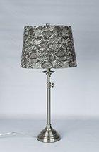 Urbanest Windsor Adjustable Accent Lamp, Brushed Nickel Finish Lamp Base... - $59.39