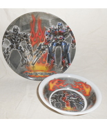 HASBRO Transformers Movie Bowl and Plate Dish Set - $7.95